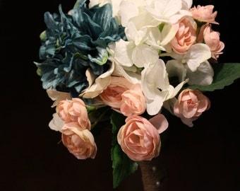 Teal & Pink Bouquet