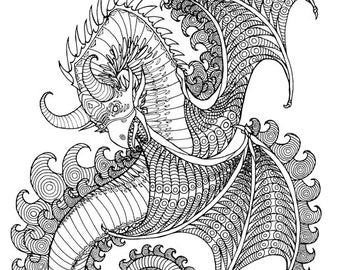 3 Adult Coloring Book Pages
