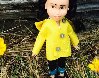 OOAK made-under hand-painted doll