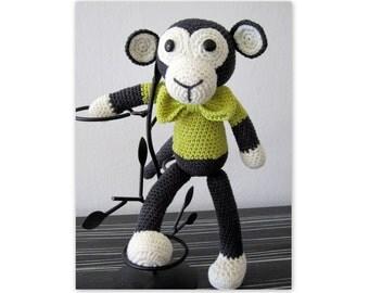 Mr. Crochet Monkey