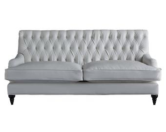 moran sofa pure white
