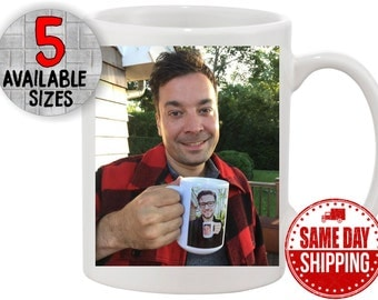 Jimmy Fallon & Justin Timberlake Funny Coffee Mug. Ultimate Inception Coffee Mug.  Great Coffee Humor and Gift Idea for Coffee Lovers