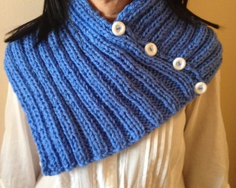 """Scarf hand-knitted  """"Lorette"""" ref: S 16"""