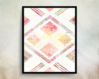 Posters And Prints Wall Art Feminine Wall Art Prints Geometric Prints Trending Art Feminine Art