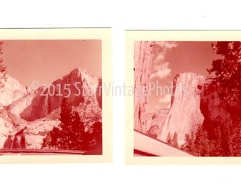 YOSEMITE VINTAGE SEPIA printable digital images collage sheet for scrapbooking crafts and altered art