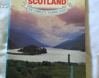 Vintage AA Touring Scotland - The Complete Touring Guide - 1981