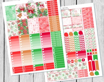 Almost Christmas || Christmas Planner Sticker Happy Planner Printable / Happy Planner Sticker Printable / Printable Planner Stickers
