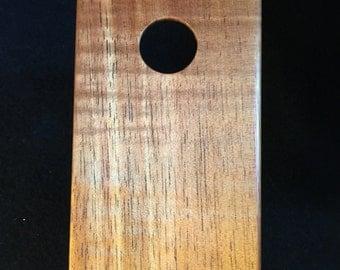 iPhone 5/5S case Solid Hawaiian Koa hardwood