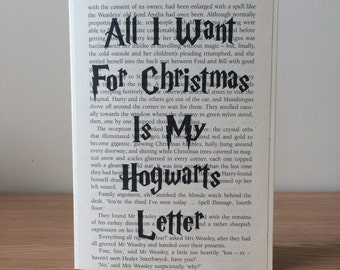 My hogwarts letter   Etsy