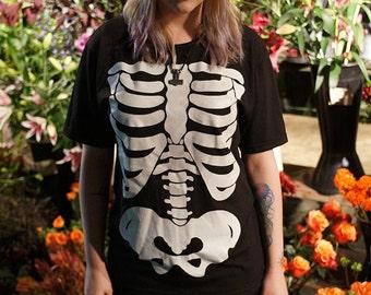 Skeleton Glow-In-The-Dark T-Shirt