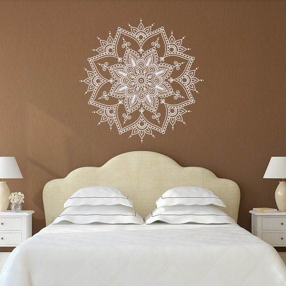 Living Room Yoga Studio Coogee: Mandala Wall Decal Mandala Decal Yoga Studio Decor Bohemian