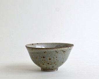 Rice bowl 4.7in (Ash glaze) / Koji Kitaoka (15005711-MK)