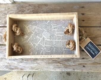 Knot Your Average Tray - Decorative Tray