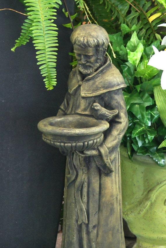 Saint Francis Concrete Garden Statue Religious Catholic Figure