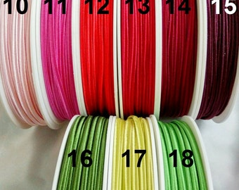 5 m Czech Acetate SOUTACHE CORD 3 mm  Soutache BRAID-  braid soutache trim