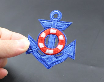 Anchor Iron On Patch Embroidered patch 5x6cm - PH111