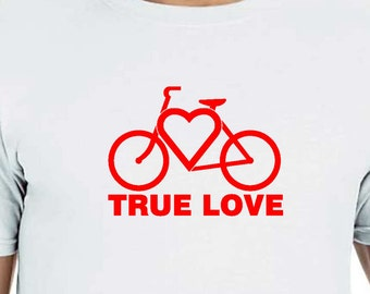 Valentine's Day Cyling T-shirt