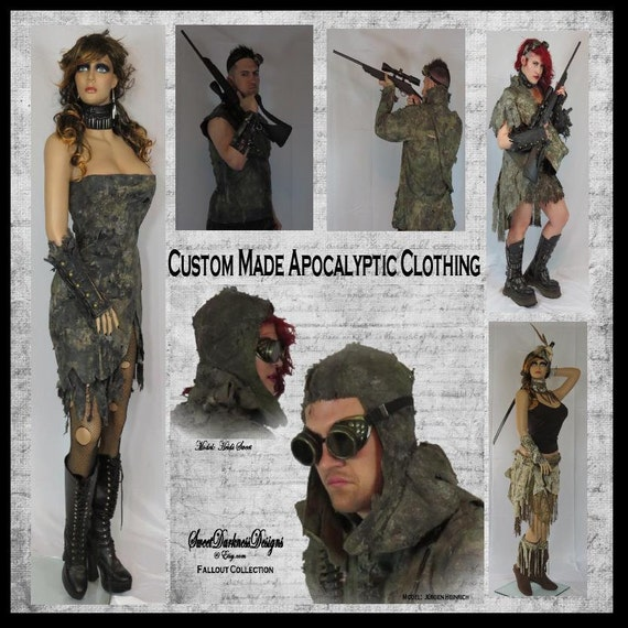 Post Apocalyptic Clothing MADE To ORDER By WastelandWearable