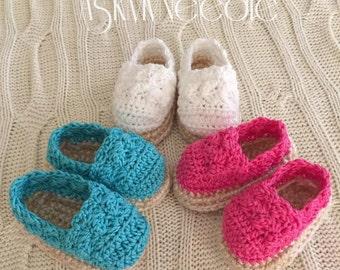 Crochet Espadrilles
