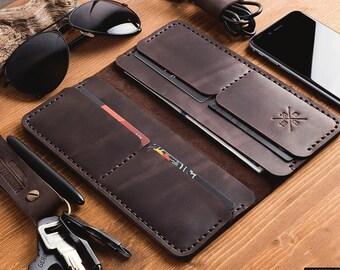Wallet, Men's Leather Wallet , Mens Wallet, Leather Wallet, Wallets for men,Personalized Monogrammed Wallet,Personalized Men's Leather Purse