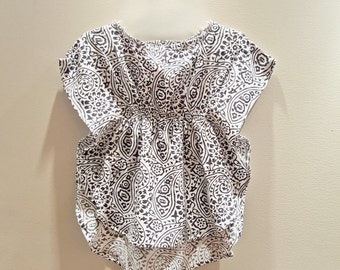 Indo Inspired Batwing Dresses for Baby Girls
