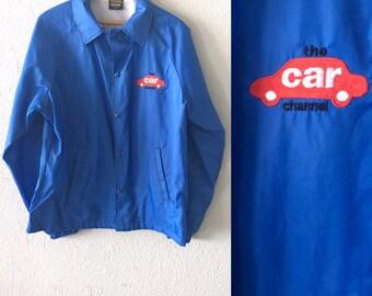 1980's The Car Channel Vintage Nemesis Sportswear Nylon Jacket