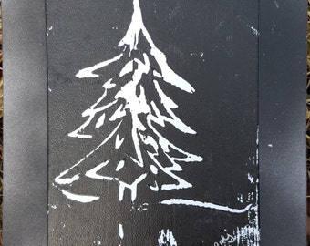 Woodblock 1, Nothing Added 1 ; Product Id: w1na1