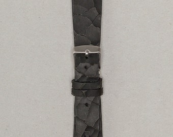 The Attaché | 20mm Vintage Leather Watch Strap