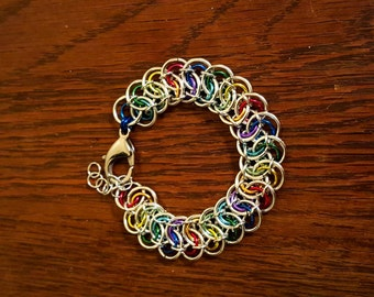 PRIDE Garter Weave Bracelet