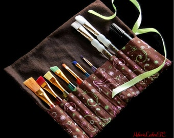 Case pencils, Holster for hooks, brushes, storage case, pencils custom chest