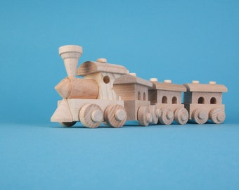 Wood Toys - Wooden Train