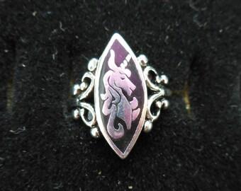 LR 86 - Unicorn Ring