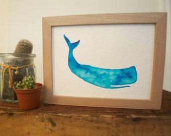 Whale Watercolour