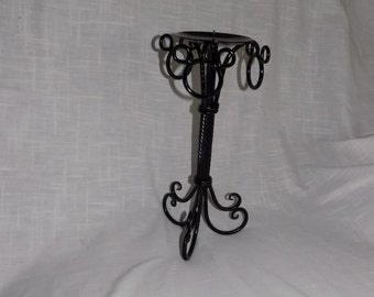 Mickey Mouse Decorated/Inspired Tall Candle Holder