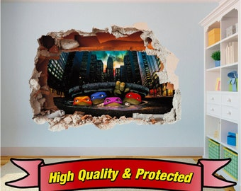 Ninja turtle decor | Etsy