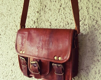 Leather Satchel // ON SALE!! // Leather Bag
