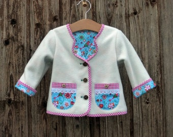 Babyjacket, fleece jacket, Janker