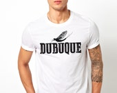 Fish Fly Dubuque Vintage T-Shirt