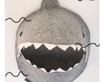 """contenitore giocattoli """"shark"""", box for toys to hang """"shark"""""""