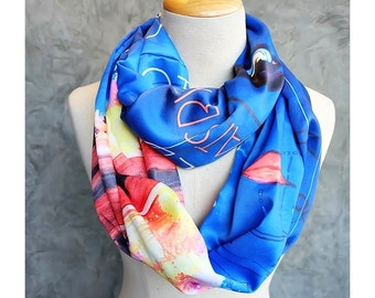 The Great Gatsby Novel Book Scarf