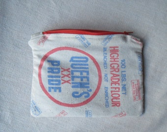 Flour sack and recycled fabric bag