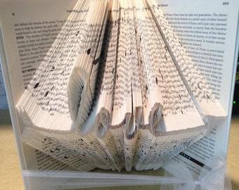 Love arrow Folded Book - boyfriend- girlfriend - Wife - Husband - Valentine's Day - Christmas
