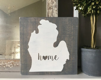 Michigan Decor Etsy