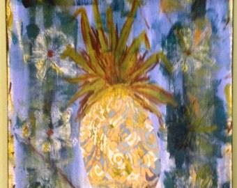 Pineapple Painting - Original Painting