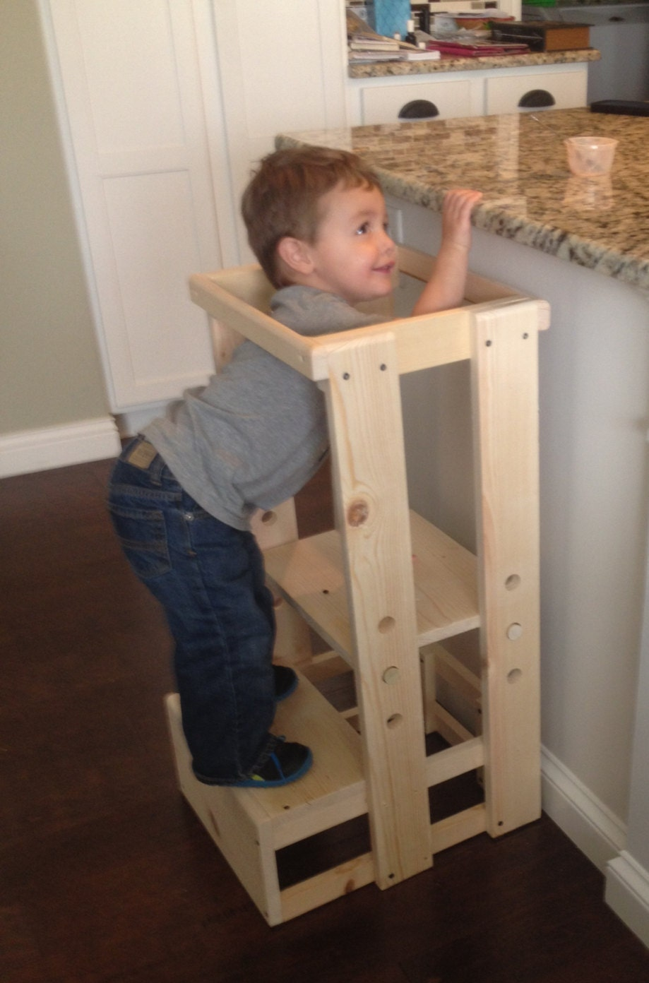 Child Kitchen Helper Step Stool Toddler Stool Tot Tower