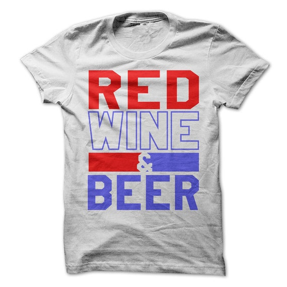 4th Of July Tshirt Red Wine And Blue Tee Usa By