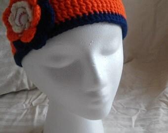 Detroit Tigers Headband, Tigers clothing, Tigers accessories, mlb headband