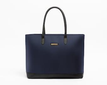 "Isabel Utility 15"" Laptop Compartmented Business Shoulder Tote Bag"