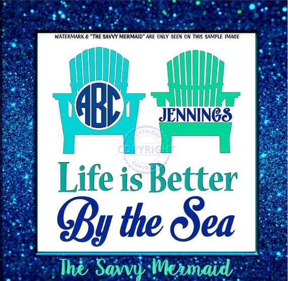 Beach Svg Lake Svg Beach Monogram Svg Cruise By Thesavvymermaid