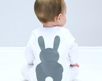 Bunny Baby Sleepsuit - Bunny Baby Shower Gift
